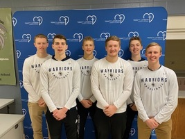 Boys Basketball Seniors Lead Chapels