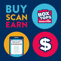 BoxTops for Education Buy Scan Earn