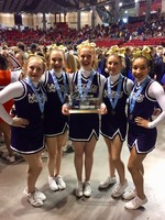 Lincoln Lutheran HS Cheer State Champions!