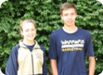 Rachel Ziems and Grant Donovan National Merit Scholarship Semi-Finalists (September 2018)