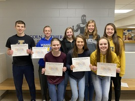 Congratulations Fall Academic All-State Winners