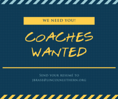 Coaches Wanted!