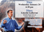 Lutheran Schools of Lincoln Present: Dr. Micah Parker (December 2017)