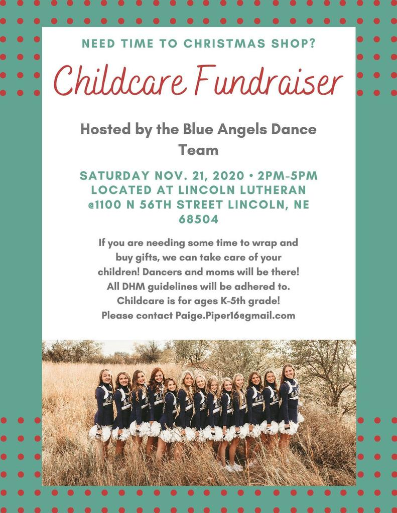 Blue Angel Childcare Fundraiser