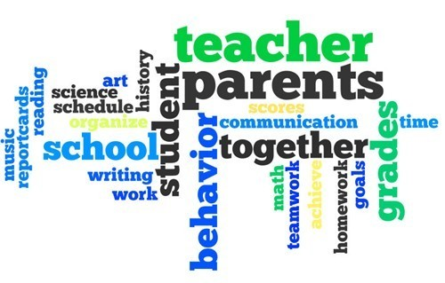 Parent Teacher's word art