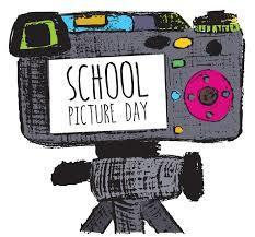 Camera with the words School Picture Day