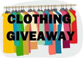Clothing Giveaway Clothing Rack