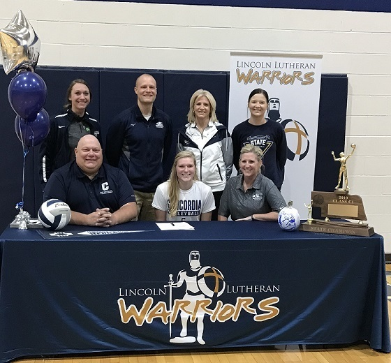 Lexie Kreizel Signing with Concordia