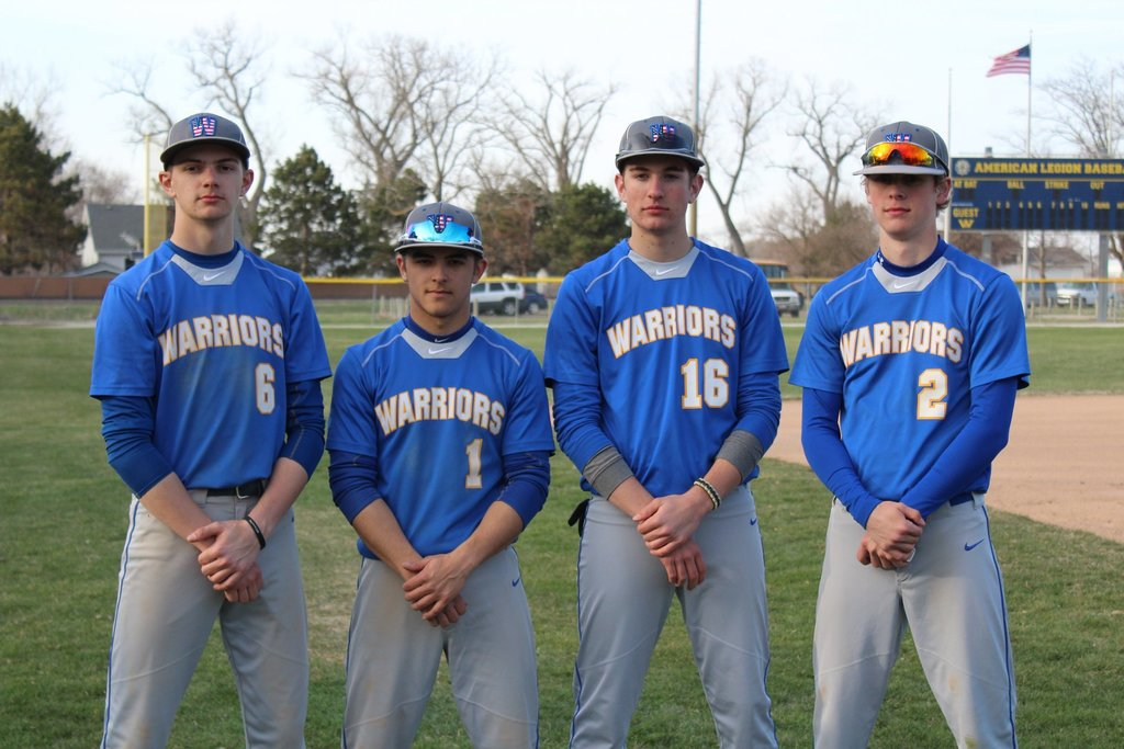 Warriors Baseball players