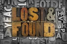Lost and Found letters