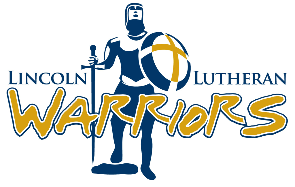 Lincoln Lutheran Warrior Logo